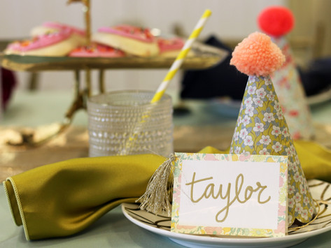 KIDS TABLE: TEA PARTY