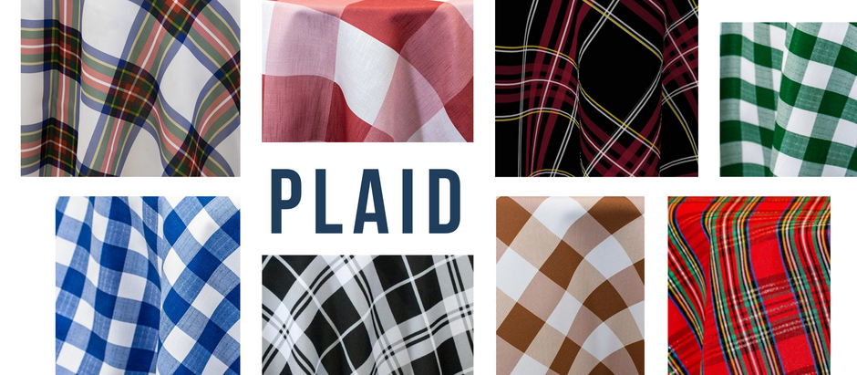 ITEM FEATURE: PLAID LINENS