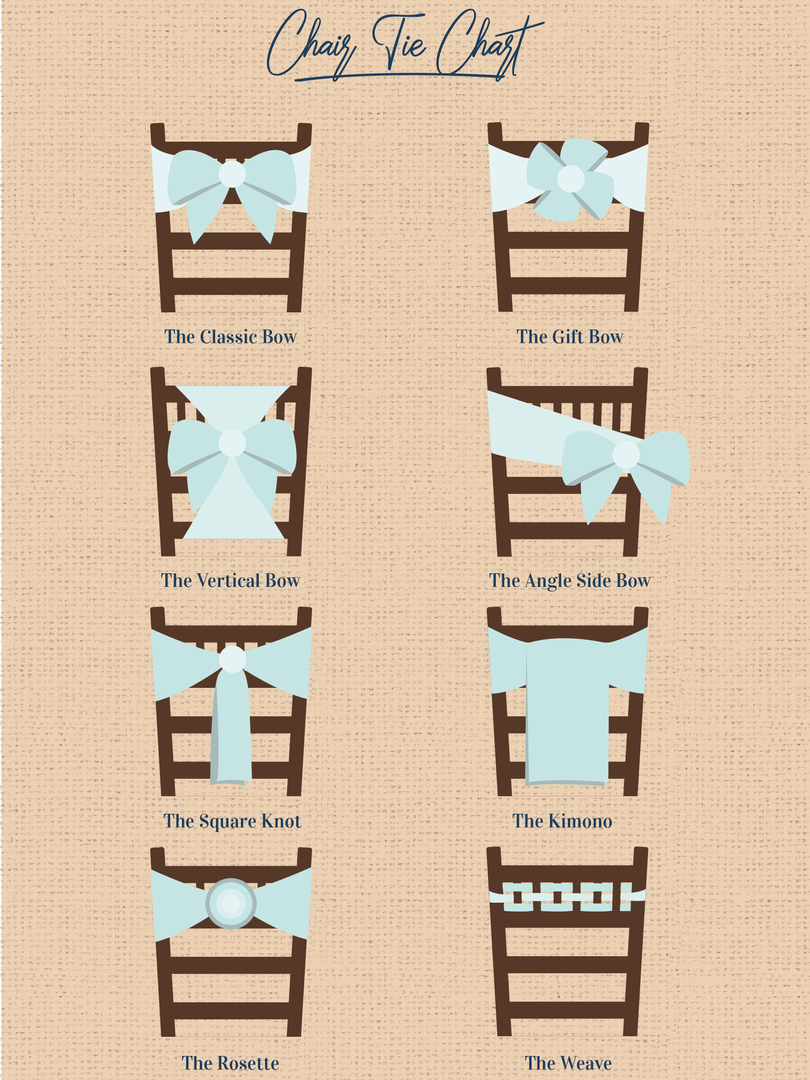 How to Tie a Chair Sash