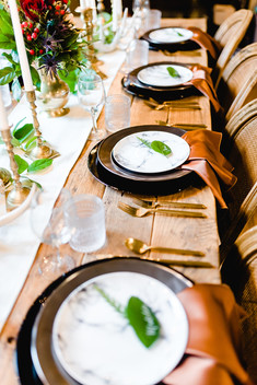 Holiday Dinner Party in Columbia, MO - Delight Events Photo by: Amanda Musselman Photography