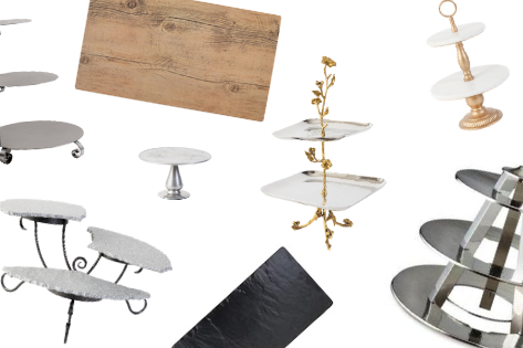 ITEM FEATURE: SERVING TRAYS