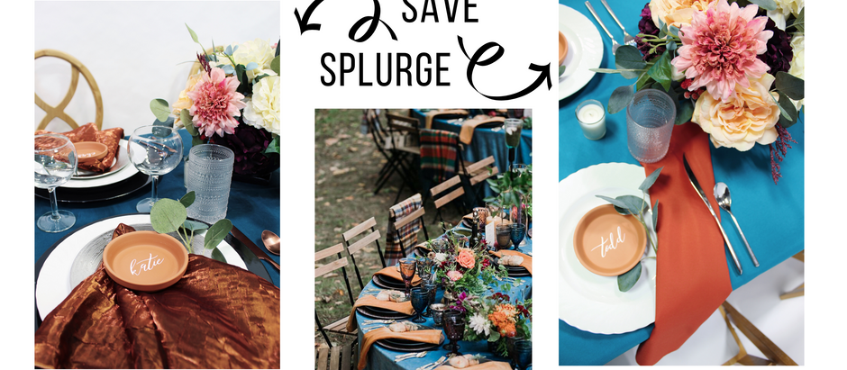 2 BUDGETS 1 LOOK: COPPER AND TEAL