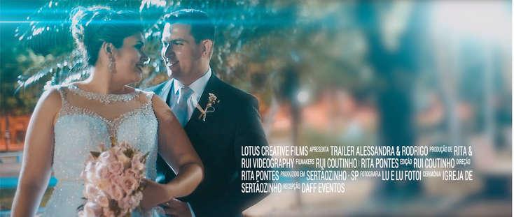Trailer Alessandra e Rodrigo