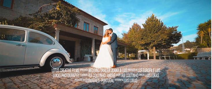 Wedding Trailer Joana & Luis
