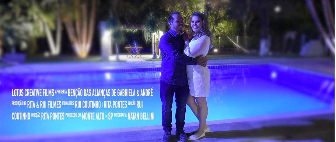 Benção das Alianças Gabriela & Andre