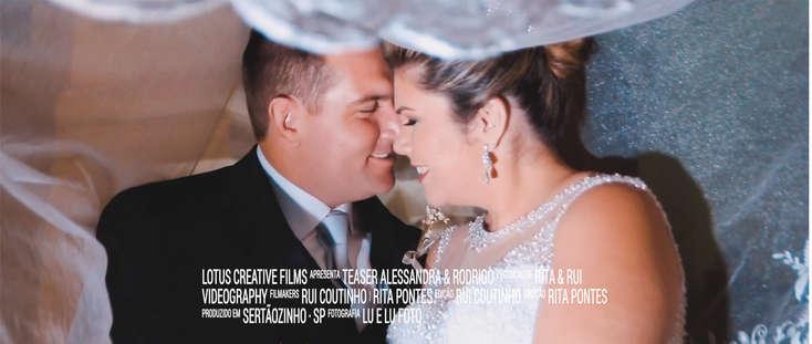 Teaser Alessandra & Rodrigo