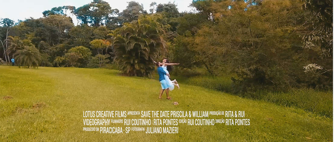 Save The Date Priscila & William