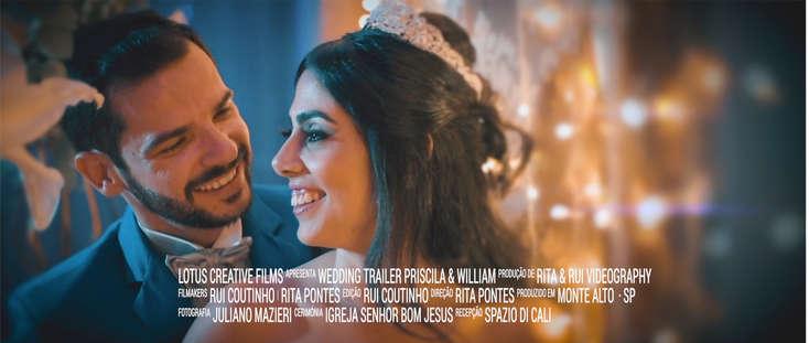 Trailer Priscila & William