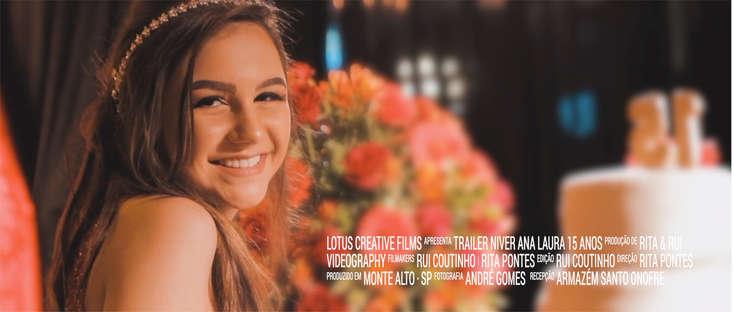 Trailer Ana Laura 15 anos