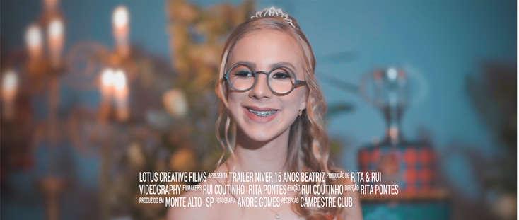 Trailer Beatriz 15 anos