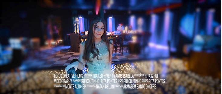 Trailer Isabela 15 anos