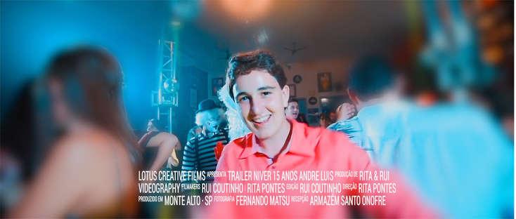 Trailer Andre Luiz 15 anos