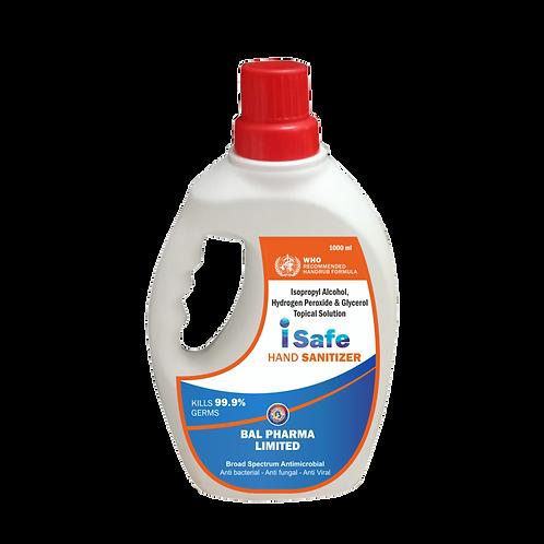 Isafe Hand Sanitizer 1 litre Rs 500/-