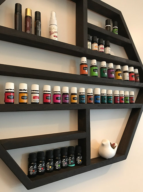 Hexagon Oils Shelf