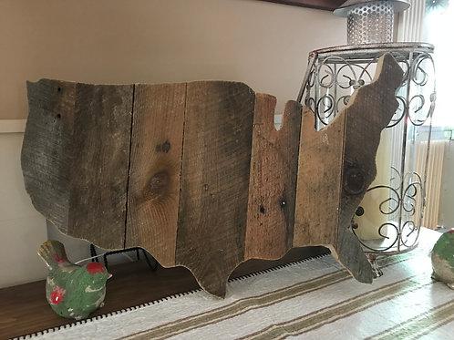 USA Barnwood Wall Deco