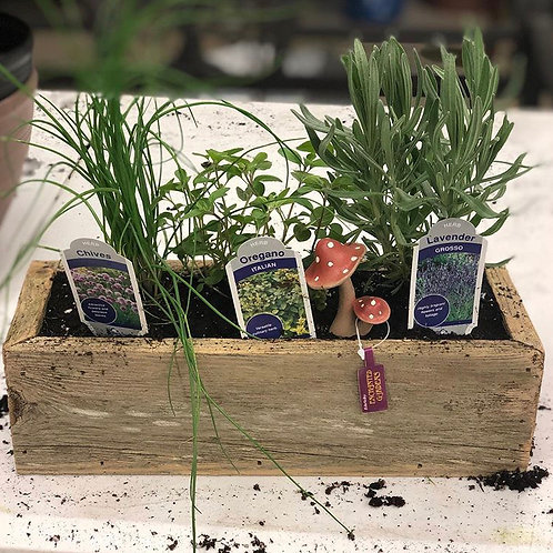 Spruce Flower Planter