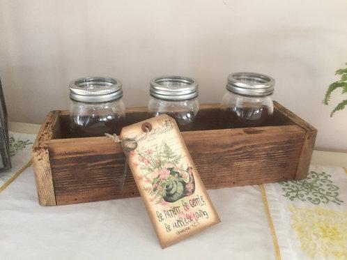 Barn Wood Deco Box (Small)