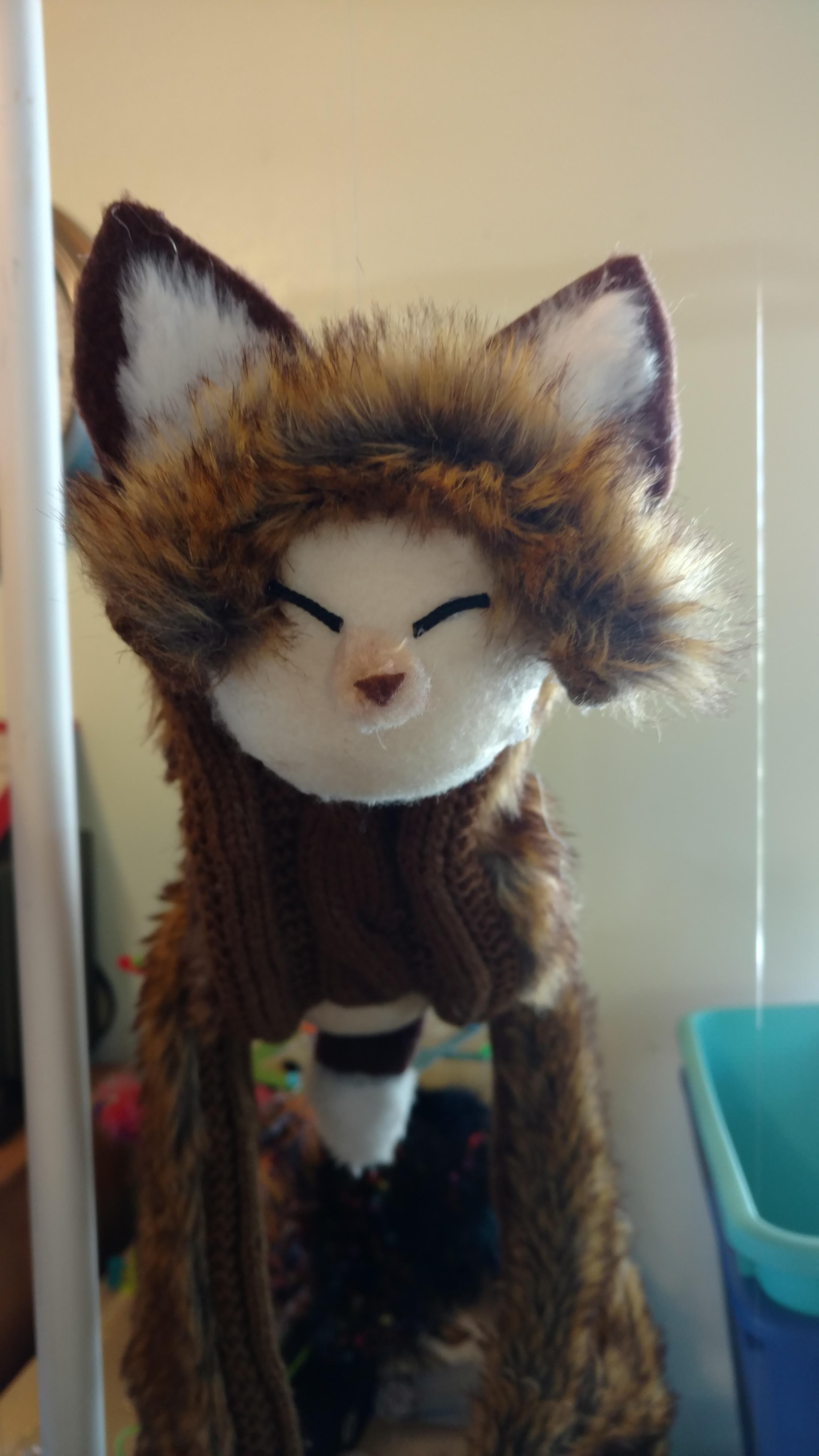 Fox Marionette Puppet