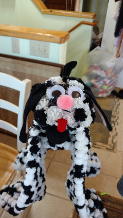 Four Legged Dog Marionette Puppet