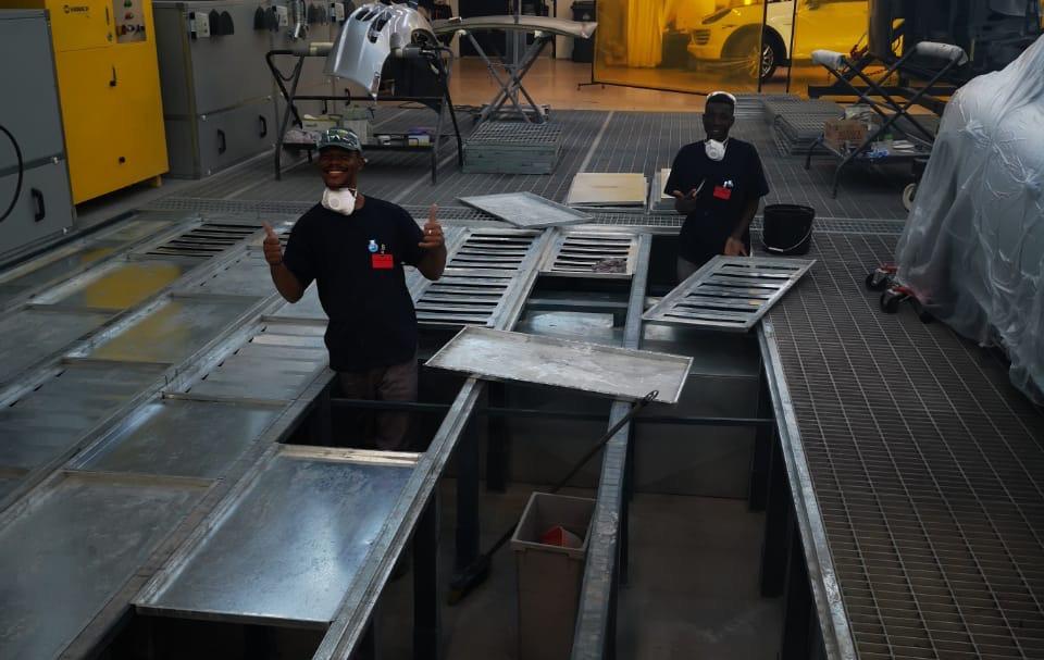 Cleaning of PREP BAYs.JPG