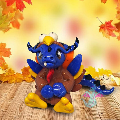 Happy turkey dragon
