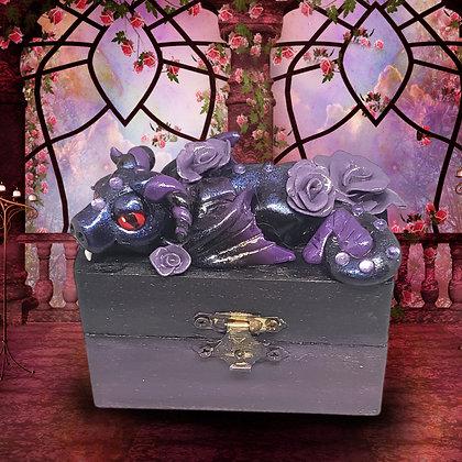 Vampire dragon trinket box