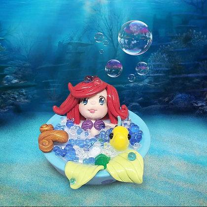 Ariel bubble bath
