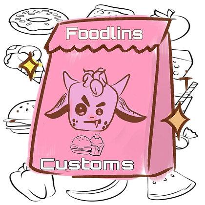 Custom order Foodlins