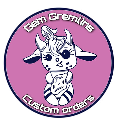 Custom order Gem Gremlin