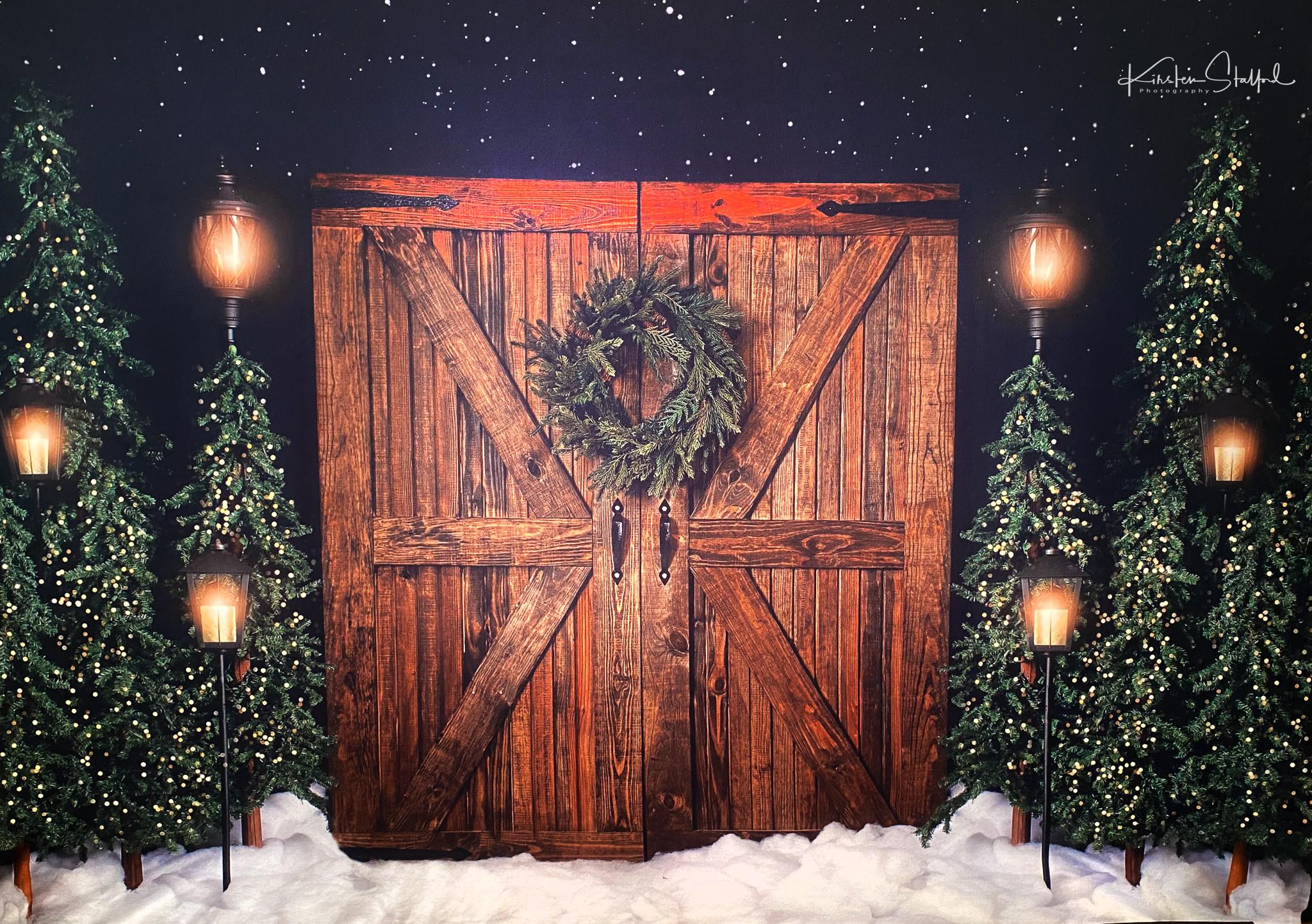 Barn door Christmas Mini Session