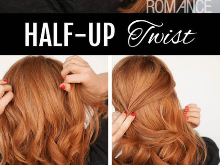 Quick Easy Long Weekend Hairstyle #2