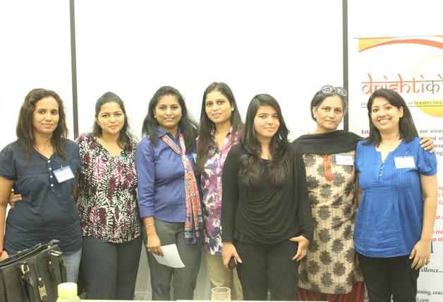 Delivering Drishtikone's flagship program, Gurgaon