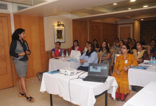 Conducting a Leadership Training, Mumbai