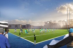 Proposed Sports Facilities, Dublin.
