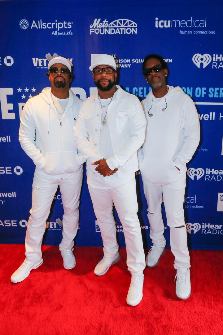 Boyz II Men backstage at Side By Side.jp