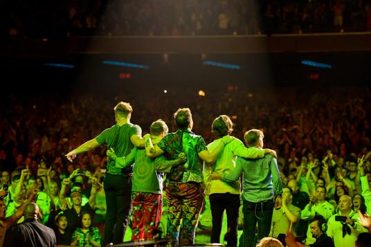 Imagine Dragons take a bow at Radio City