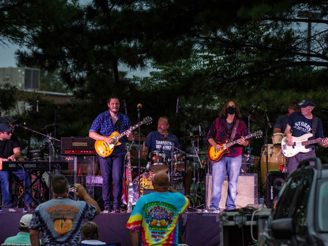 Almost Allman Brothers Prove Drive-In Concerts Are A  Welcomed Diversion During The Pandemic