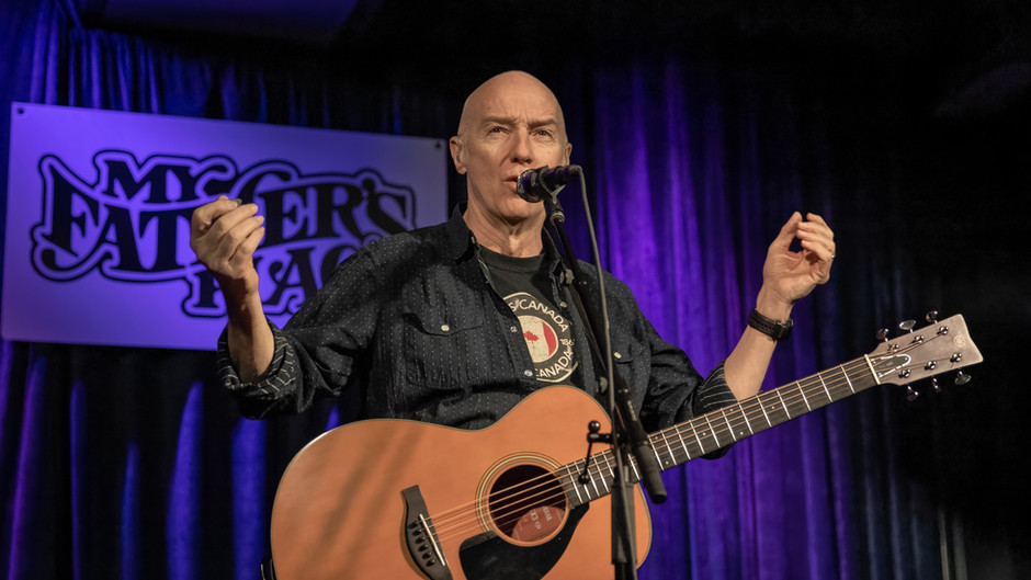 Midge Ure Gets Up Close and Personal with Fans at My Father's Place