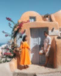 Best Phot Spots in Santorini - Kastro Oia Houses