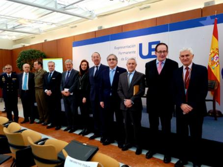 GAHN PRESENTA EL PROYECTO DE AYUDA DE EMERGENCIA EN LA UE