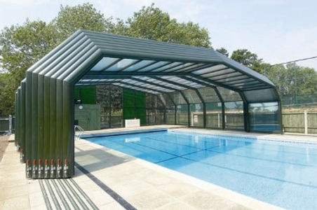 Pegasus Pools Pembrokeshire swimming pool enclosure