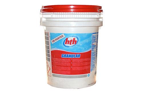 hth de dusted granular Calcium Hypochlorite (25kg)