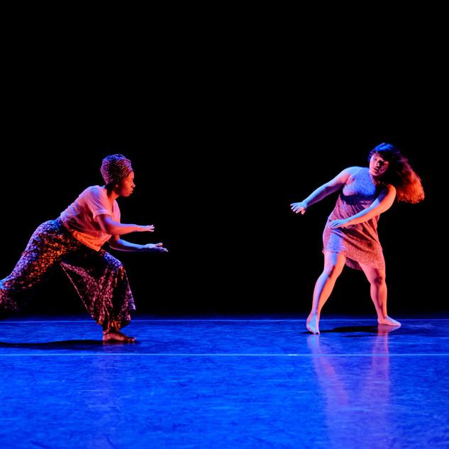 Sydney Jackson and Reyna Montoya