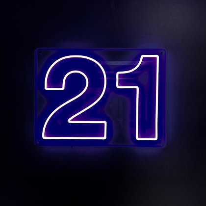 21 Neon Light