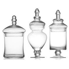 Small Candy Jars