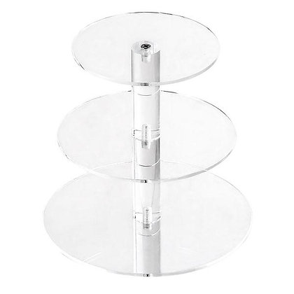 3 Tier Acrylic Cake Stand