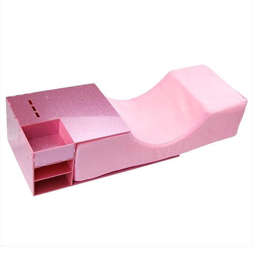 Pink Lash Pillow w Drawers