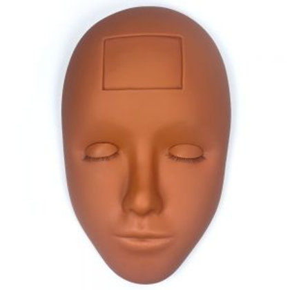 Mannequin Head With Life Like Eyelid Advanced