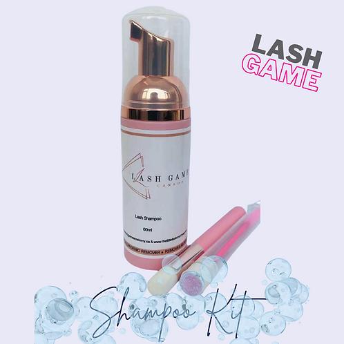 Lash Game Shampoo Kit