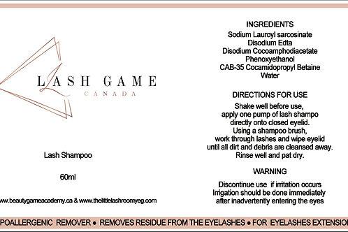 Private Label Lash Shampoo